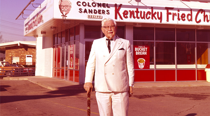 KFC's original logo and branding